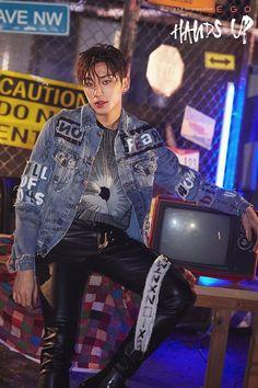 """ B.A.P 8th single album [EGO] Teaser Image Ver.2 - JONG UP """