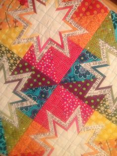 Lone Starburst Pillow by Curly_Boy, via Flickr
