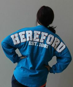 Show Your Hereford Spirit In This Jersey | Shop Hereford