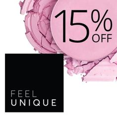 Click my link to receive 15% off your first order at Feelunique, official stockist to over 500 of the world's leading beauty brands. You're welcome!