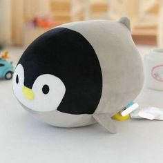 20Cm 33cm lovely Penguin Plush Toys Stuffed Nanoparticle Doll Gray Penguin Cloth…