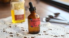 Vitamin C face serum! Josh Axe shows you how you can easily make a powerful, Vitamin C face serum that can decrease age spots and increase collagen and elasticity. Diy Vitamin C Serum, Homemade Cosmetics, Homemade Beauty Products, Natural Products, Skin Care Treatments, Face Treatment, Diy Beauty, Beauty Tips, Beauty Essentials