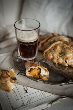 What a spin on a back home classic. Butternut squash goat cheese pasties!  To all my Yoopers check this out!