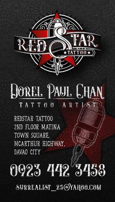 Logo Branding, Branding Design, Logo Design, Graphic Design, Red Tattoos, Star Tattoos, Pad Design, Cover Design, 3d Presentation