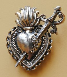 ornate sacred heart