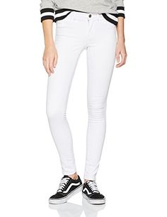 Only Onlroyal HW SK Jeans White Noos Vaqueros Skinny para Mujer