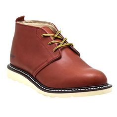 Golden Fox Arizona Chukka Boot Casual Wear Light Weight Work Boots for Mens Redwood 10.5 M US * Click image to review more details.