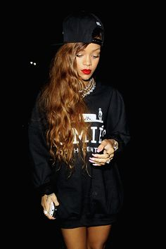 Rihanna's swag style http://stylewithveni.blogspot.gr/2014/08/do-it-like-rihanna.html