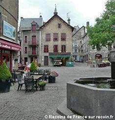Village de France, Besse en Chandesse, Volcans d'Auvergne, Puy de Dôme