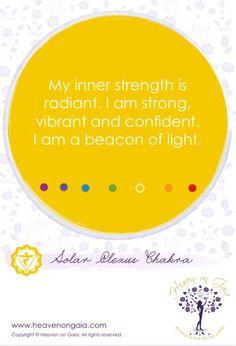 #solarplexuschakra #chakra #affirmation #quote #heavenongaia