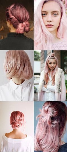 Have you heard? Rose quartz is the 'it' hair colour this season and judging by how many girls I've spotted sporting this hair hue, i...