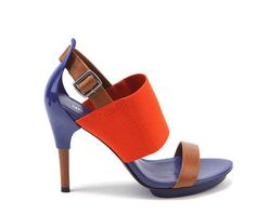 Orange and blue shoe sandals  #WarEagle  RollTideWarEagle.com  sports stories that inform and entertain, plus #collegefootball rules tutorial. Check out our blog and let us know what you think