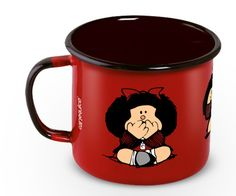 Caneca Ferro Mafalda