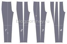 Моделирование брюк, объемных по бедрам Plus Size Patterns, Knit Patterns, Sewing Patterns, Sewing Pants, Sewing Clothes, Paper Crafts Origami, Laundry Room Design, Pattern Cutting, Pattern Drafting
