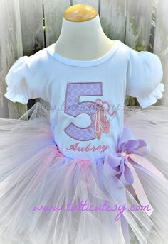 Ballet+Number+tutu+Outfit+by+tutticutesytutus+on+Etsy,+$54.99