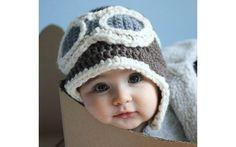 Um chapéuzinho de aviador é uma opção divertida. Foto: Pinterest/Giulia Giacomazzi