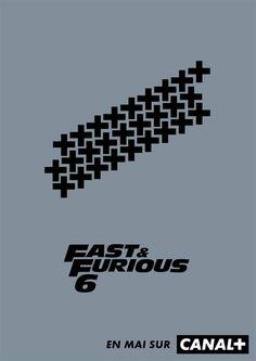 """""""Fast and Furious 6"""" de Justin Lin - Cannes 2014 : des affiches de films décalées made in Canal + - Diaporama - AlloCiné"""