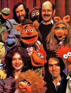 Jim Henson and Frank Oz
