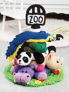 Zoo Tier Pyramide häkeln