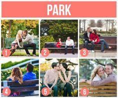 He proposed sitting on a bench so perfect for engagement pics!