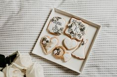 Stationery – Invited By Dani Photography – Jenna St. Croix Cake & Cookies – Sticks & Scones Flowers – Gooseberry Flower Design Hair & Make Up – Desiree A – London Hairstylist Guitarist – Kevin Valkenier