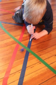What to do with just some lines of tape