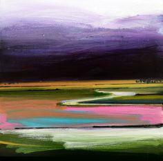 Fred Ingrams is an artist living in Norfolk mainly painting in The Fens. Abstract Landscape, Landscape Paintings, Soft Pastel Art, Flow Arts, Composition Design, Unusual Art, Grey Skies, Windy Day, Red Barns