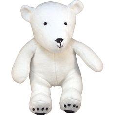 Ekologiskt gosedjur, Polar Bear - Under the Nile - Ekologiskt & Tryggt - GoodforKids