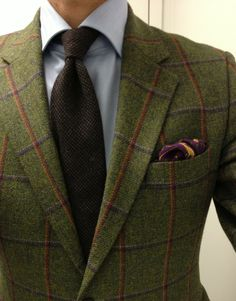 Grouse Moor. Traditional Worsted Country Suiting By Holland & Sherry. Savile Row - London
