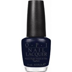 """Newest OPI color """"Roadhouse Blues"""".  I love this nail color for Fall."""