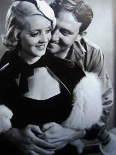 Bette Davis and Spencer Tracy