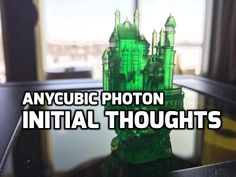 Here's some quick thoughts on the Trigorilla Anycubic Photon! Here's my initial thoughts on the initial setup and printing for the Photon! 3d Printing Service, 3d Prints, Got Print, Sign I, New Media, Really Cool Stuff, Initials, Thoughts