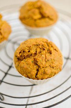 Scandi Home: Vegan Carrot Muffins..... Sugar free too.