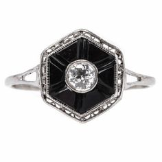 Engagement Ring Inspiration: Art Deco - The Cut