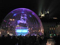 Festival des Lumières du 8 décembre  http://www.fetedeslumieres.lyon.fr/