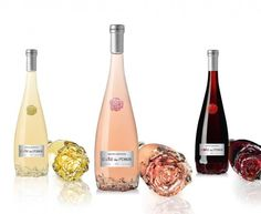 Cotes Des Roses - the wine celebrates the Mediterranean Art de Vivre! Its originality extends to the rose-shaped bottle, manufactured by Verallia. Wine With Ham, Wine Reviews, Wine Packaging, Cheap Wine, Wine O Clock, Wine Drinks, Beverages, Wine And Spirits, Desert Recipes