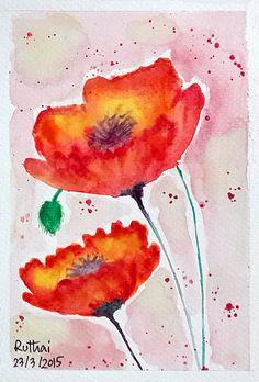 Watercolor 6th.  ps.. Learn to paint from ART TV by Fantasvale link::: https://www.youtube.com/watch?v=4s3Fla9k9tE