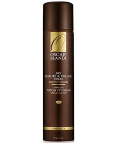 Oscar Blandi Pronto Texture & Volume Spray, 4 oz - Hair Care - Bed & Bath - Macy's