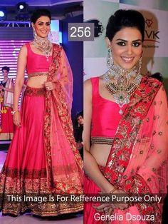 Lehenga  http://www.indianclay.com/women/women-s-dresses/lehenga/genelia-dsouza.html Starting @ Rs 1650/-
