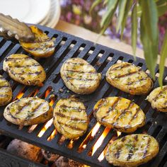 Easy and tasty these grilled potato planks will be loved by the whole family.