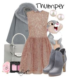 """Thumper - Disney's Bambi"" by rubytyra ❤ liked on Polyvore featuring Harrods, Thumper, Balenciaga, Oscar de la Renta, NARS Cosmetics, RED Valentino, Rupert Sanderson, Majorica, disney and disneybound"