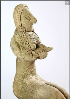 Mehrgarh terracotta mother & child