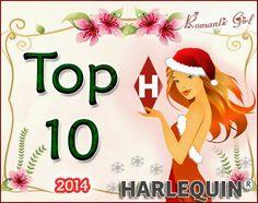 [Top 10] ► Harlequin 2014 //  Hoje é dia de retrospectiva #HarlequinBooksBrasil no blog Romantic Girl. Confiram os 10 melhores romances lançados pela editora em 2014 que eu li.