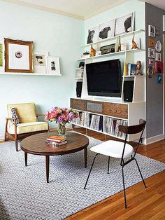 If you, like us, have an itsy-bitsy living room that needs more than a bit of...