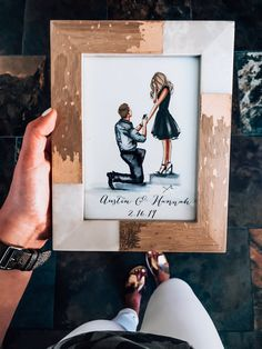 perfect engagement gift for a newly engaged couple! June Top 10 – Simply Kaylee Ann for best friends marriage June Best Sellers Perfect Engagement Gifts, Engagement Party Gifts, Engagement Gifts For Couples, Engagement Photo Poses, Engagement Couple, Wedding Engagement, Engagement Nails, Tiffany Engagement, Country Engagement