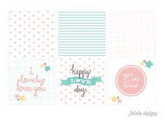 falala designs: Little Love Notes