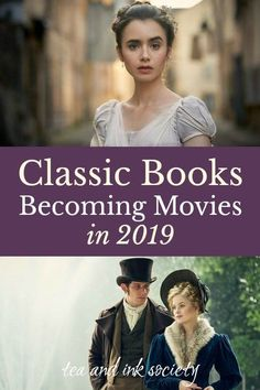 Classic Books Becoming Movies and Miniseries in 2019 Classic Books Becoming Movies and Miniseries in Want to find out what classic book-to-movie adaptations are coming out in Check out this list of. Movies To Watch List, Movie List, Netflix Shows To Watch, Best Movies List, Coming Out, Baltimore, Period Drama Movies, Period Dramas, Adventure Novels