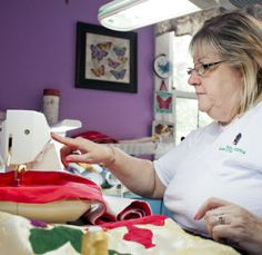 """Sew Hopeful"": Kathy Furth sews for a living, but that didn't stop her from creating a ministry at her parish, to provide handmade newborn clothing to women in crisis pregnancy situations  through the Gabriel Network"