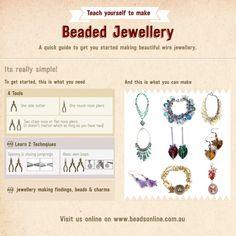 Beading & Jewellery Making Tutorials | Jewellery Making – Beading – Tutorials – Ideas – Inspirations