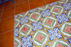 Risultati immagini per pavimenti ceramiche siciliane